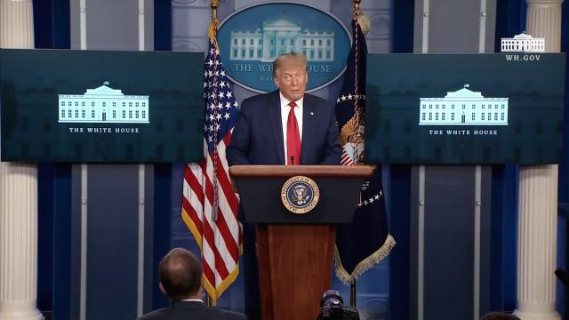 09/10/20 President Trump holds a news conference