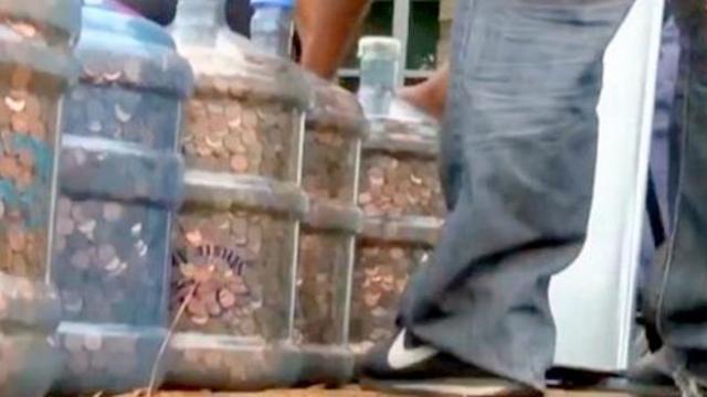 Man collects pennies for 45 years. Even the bank was in disbelief at the total