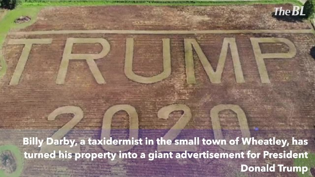 Arkansas Man Mows Giant 'Trump 2020' Into Field