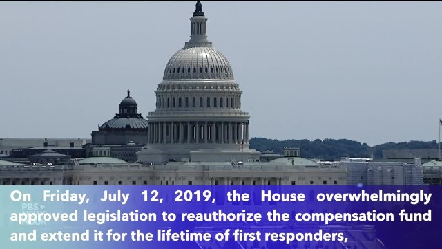 House overwhelmingly approves extending 9:11 fund for lifetimes of first responders