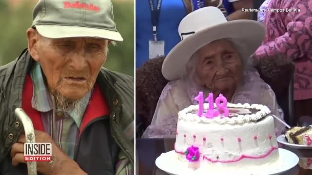 Woman Born In 1900 Celebrates Her 118th Birthday By Playing The Lute And Eating Cake