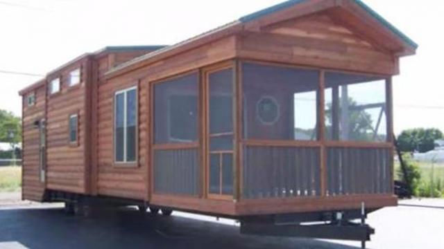 This house comes fully furnished and sleeps six. Would you move here with your family?
