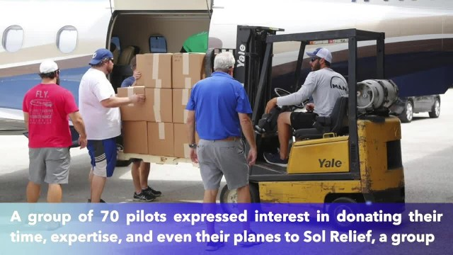 70 volunteer pilots will take relief items to Bahamas from St. Pete, Florida