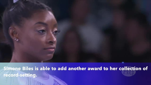 Simone Biles named Team USA Olympic Female Athlete of the Year