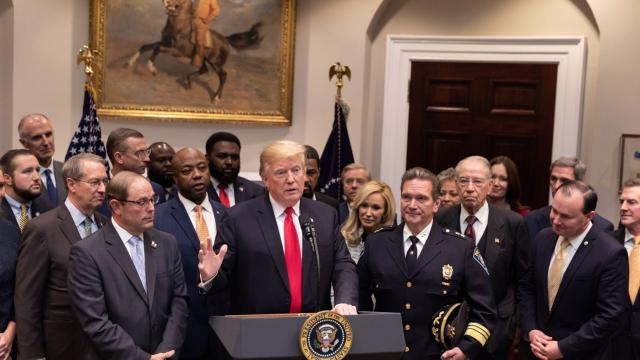 President Trump announced his support for the FIRST STEP Act