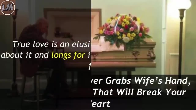 "After 59 Years Of Marriage, He Looks At His Wife And Says ""You Can't Hear Me, But I Love You"""