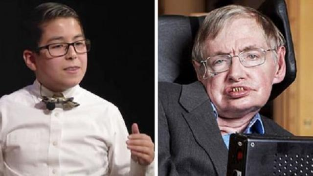 "11-year-old genius out to prove Stephen Hawking wrong after his death: ""God does exist"""