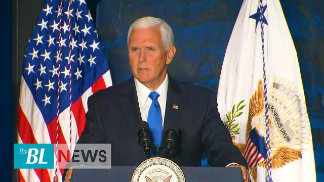 Pence: 'We will confront this evil in our time'
