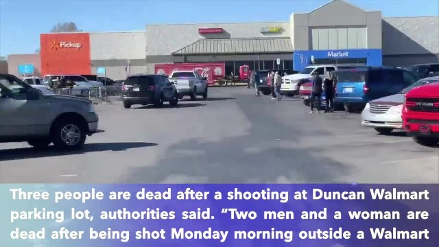 3 dead in shooting at Oklahoma Walmart, authorities say