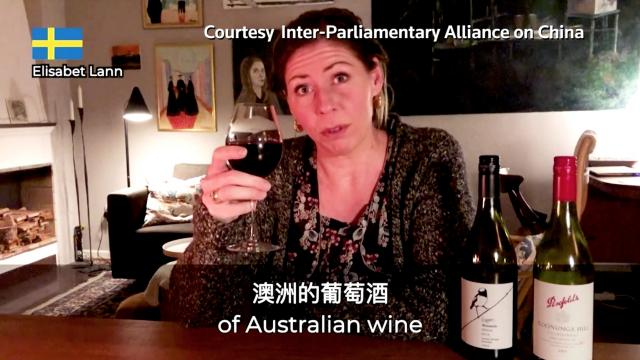 Politicians urge people to buy Australian wine