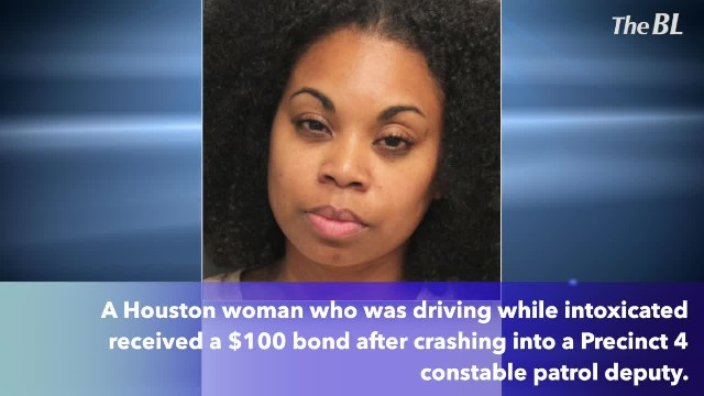 Drunk woman crashes into deputy arrested with $100 bond   TheBL com