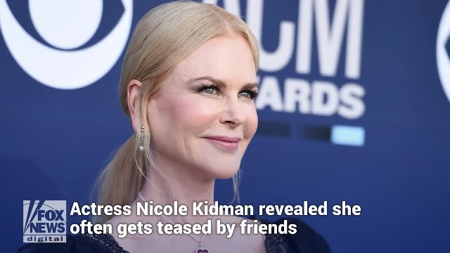 Nicole Kidman reveals friends tease her for believing in God and bringing her children to church