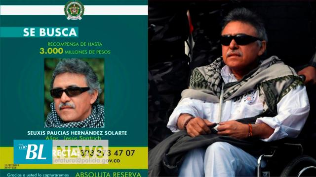 Colombia offers reward for info about an ex-guerrilla