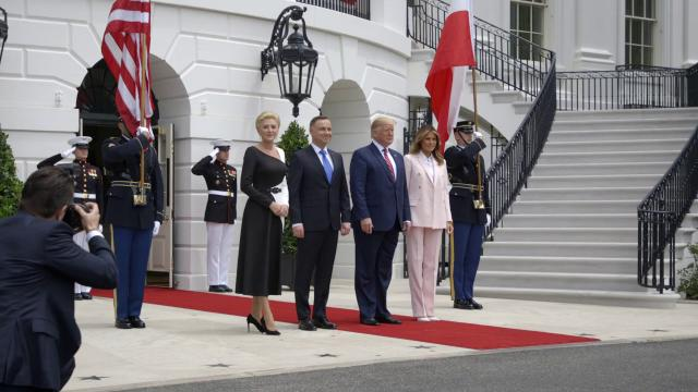 President Trump and the First Lady Welcome President Duda & Mrs. Duda