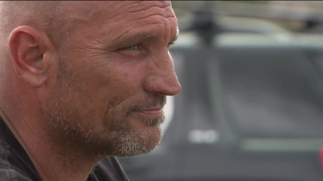 Homeless man proclaimed hero after pulling drivers from burning wreck