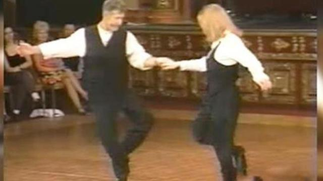 Lovely couple's outstanding shag dancing will knock your socks off