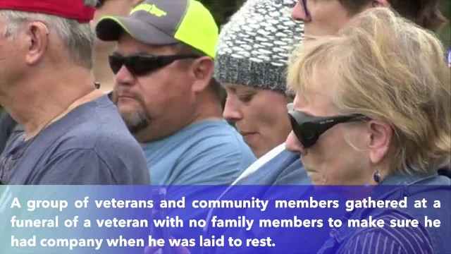 Unclaimed Wisconsin veteran with no family laid to rest by strangers