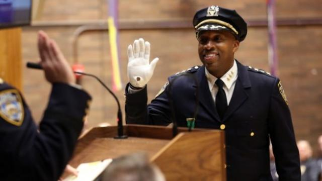 Rodney Harrison makes history with NYPD becoming first African American chief of detectives
