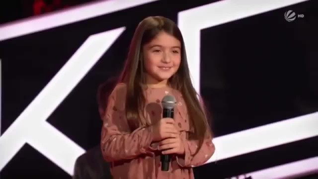 Voice, poise, presence! This little German girl has everything it takes to be a big star in the maki