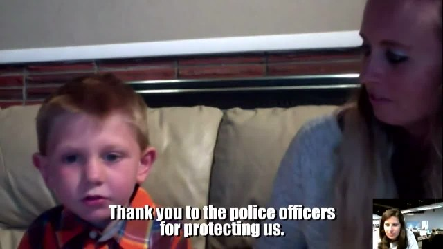 6-year-old boy abruptly asked mom to stop car so he can pray for the police officer on the road