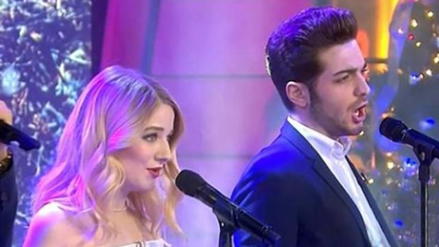 Jackie evancho teams up with ii volo to sing christmas classic 'Little Drummer Boy'