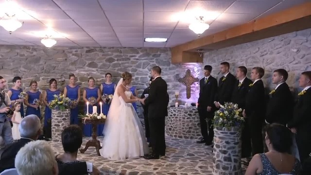 Bride sees her husband's ex show up at her new wedding, demands she stand up