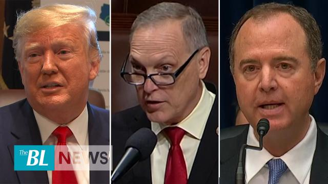 Trump says impeachment bad for the Country - Democrats Block Bid to censure Adam Schiff