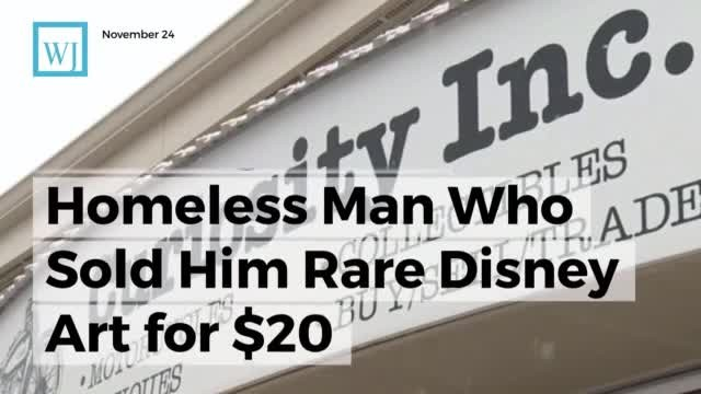 Antique dealer spends weeks hunting down homeless man who sold him rare item for $20