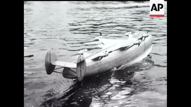 Niagara falls collapsed in 1954 and they caught it all on video