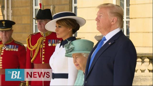 President Trump and First Lady Given High Honors by Queen Elizabeth on State Visit to the UK
