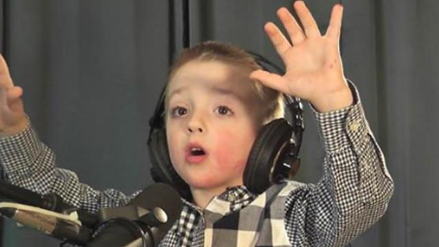 5-year-old boy singing 'Open The Eyes of My Heart Lord' will touch your heart