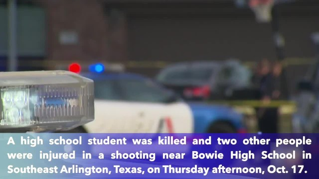 One Texas high school football player killed, 2 others injured in southeast Arlington shooting