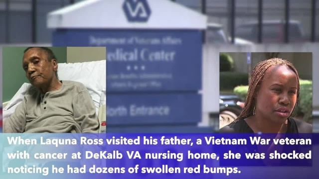 Vietnam vet found covered with ants in nursing home bed dies after being bitten more than 100 times