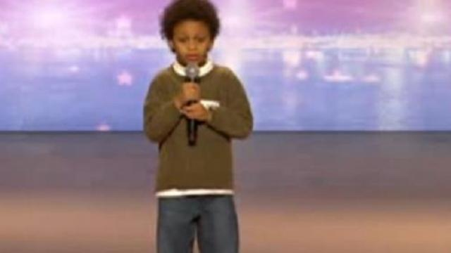 This 9-year-old boy is autistic, but when he starts to sing, everyone in the crowd goes crazy