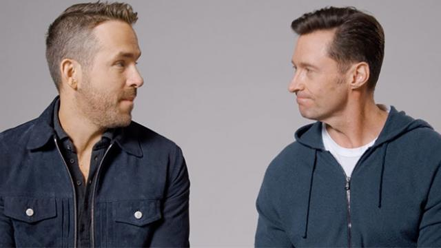 Hugh Jackman And Ryan Reynolds call a truce and we can't stop laughing