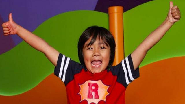 8-year-old Ryan Kaji is highest paid YouTuber, earns $26 million in 2019