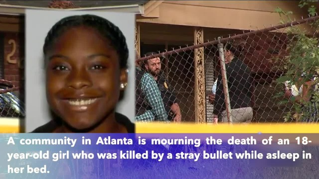 18-year-old killed by stray bullet while asleep in her Atlanta home, police say