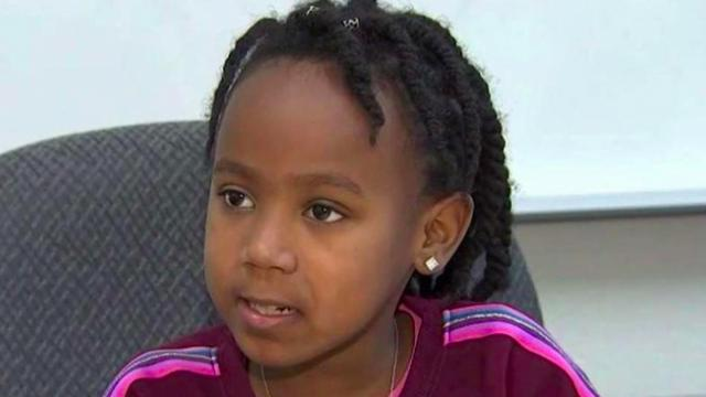 7-year-old girl raises money for classmates who can't afford school lunch