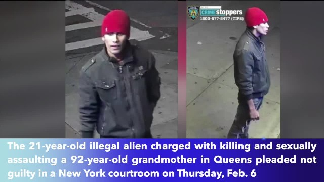 Illegal alien pleads not guilty to raping, killing 92-year-old Queens woman