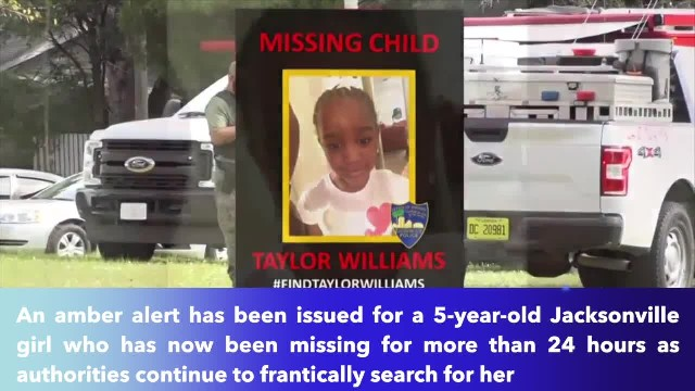 Florida Amber Alert for missing 5-year-old girl- 'She's obviously in danger'
