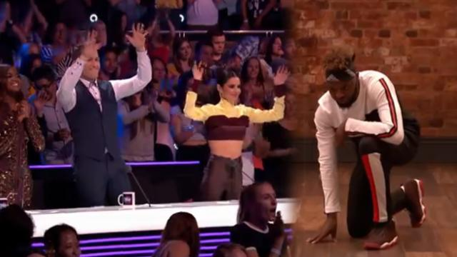 Deaf dancer blows everyone away and gets standing ovation