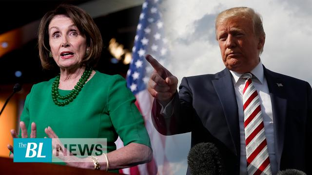 Republicans slam Pelosi after she walks out on President Trump