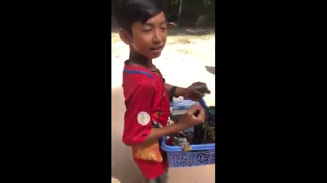 Video clip of talented boy selling souvenirs who could speak eight different languages — buyer was a