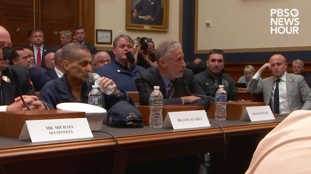 Jon Stewart says Congress 'should be ashamed' over inaction on helping 9 11 first responders