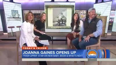 4-MONTH-OLD BABY CREW CRASHES CHIP & JOANNA'S INTERVIEW
