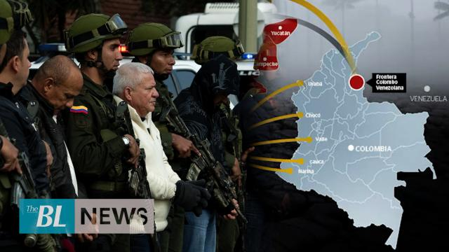 Mexican cartels try to establish themselves in Colombia