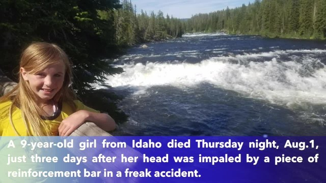 Idaho girl, 9, dies after freak accident, donates organs and corneas to 5 people, family says