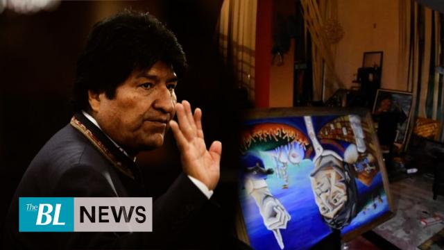 Evo Morales' home raided