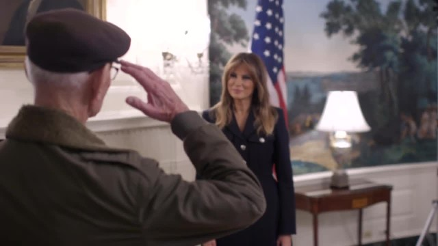 First Lady Melania Trump Welcomes the 2019 State of The Union Guests