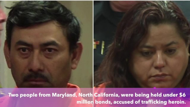 Two Illegal immigrants caught with $1 million worth of heroin in North Carolina